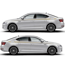 TAIYAO car styling sport sticker For Skoda Superb Mark Levinson accessories and decals auto