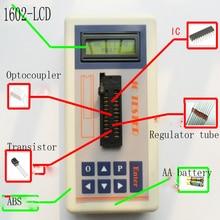 Geïntegreerde Circuit Ic Tester Transistor Tester Online Onderhoud Digitale Led Transistor Ic Tester
