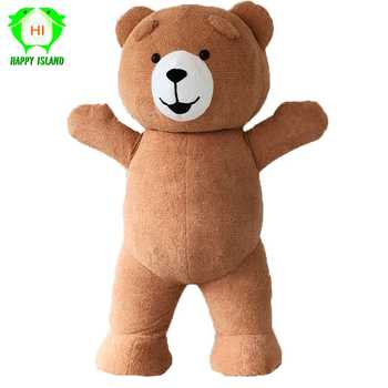 Teddy Bear Inflatable Costumes for Advertising Customize 3M Tall Suitable for 1.7m To 1.9m Adult Halloween Cosplay Costume - DISCOUNT ITEM  35% OFF All Category