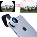No Dark Circle Super Mobile Phone Lens Clip Fisheye Fish Eye Lens 180 Degree for iPhone Samsung HTC LG Android Phone APL-180Fish
