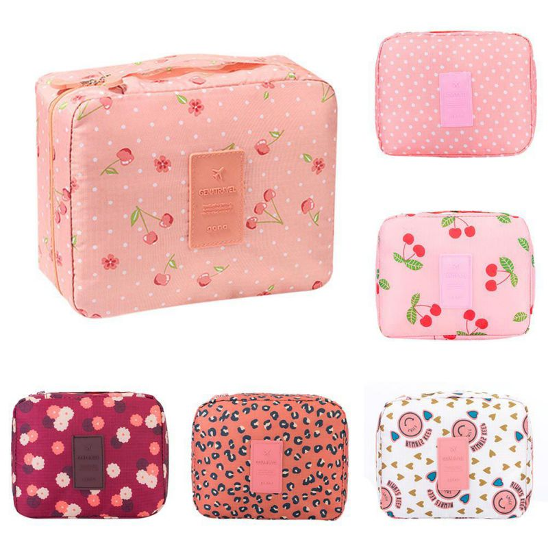 Women Wash Bags Travel Organization Beauty cosmetic Make up Storage Lady Handbag Pouch Home Accessories Supplies