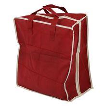 Red Travel Waterproof Ventilation Folding Shoes Storage organizer Portable fashion Closet women/men shoe bags
