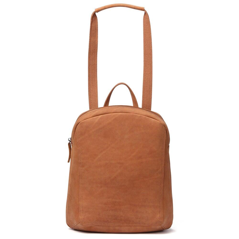 JOYIR Women 39 s Backpack SchoolBags For Girls Genuine Leather Bag Female Back Pack For School Fashion Solid Bolsa Feminina Mochila in Backpacks from Luggage amp Bags