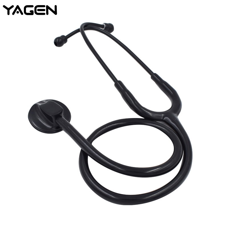 Top quality Doctors nurses medical Professional Acoustical Cardiology single head blood pressure Stethoscope for kids adult(China)