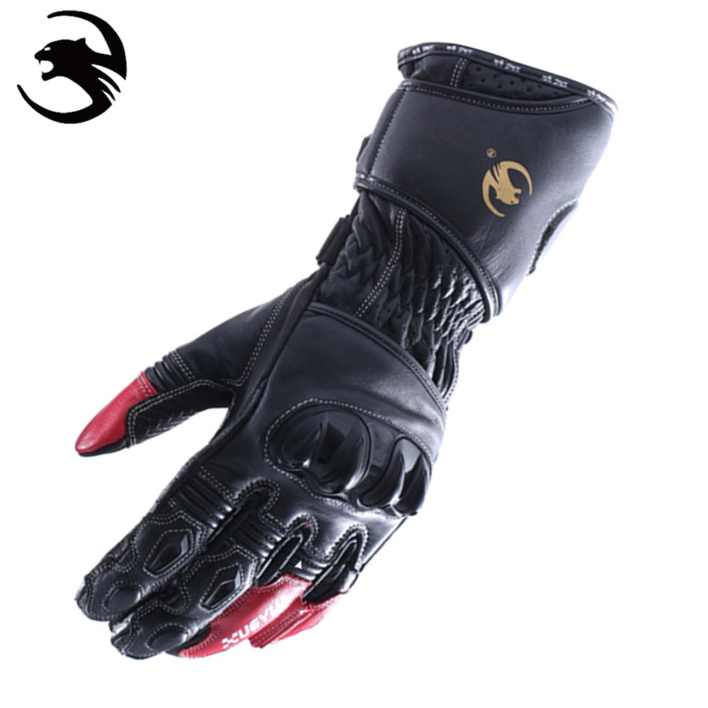 Buy leather motorcycle gloves - Xueyu Genuine Leather Motorcycle Gloves Guantes Mo