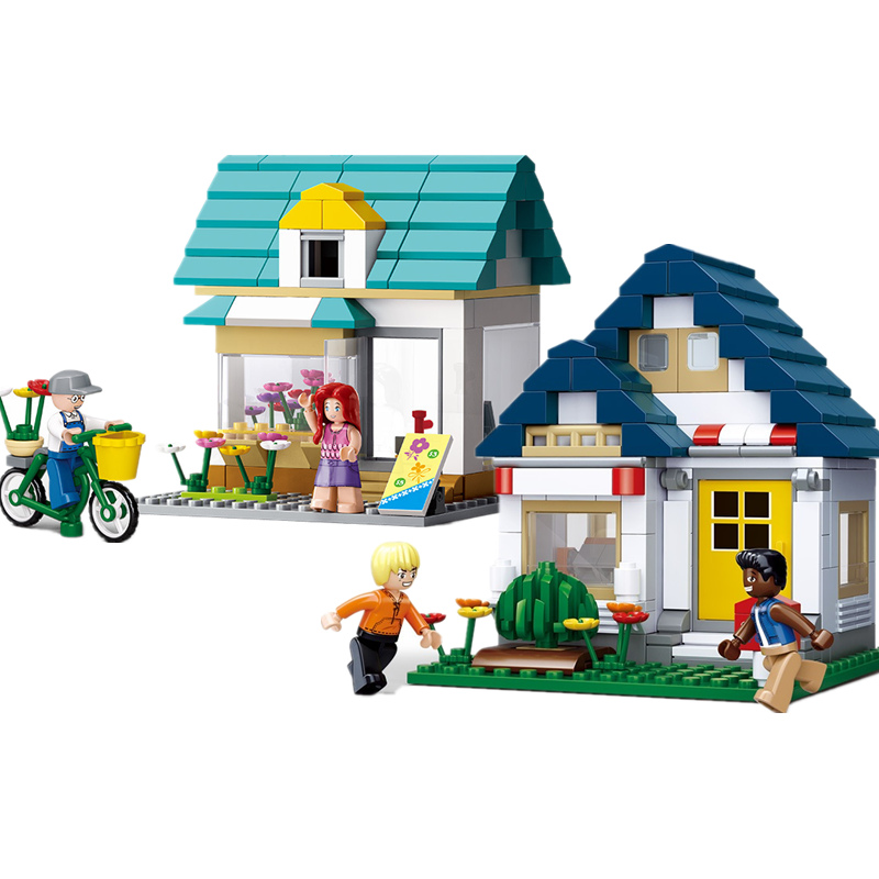 Sluban 0278 142pcs Pirate Skeleton House War Skull Guard Building Block Bricks Toy Fixing Prices According To Quality Of Products Model Building