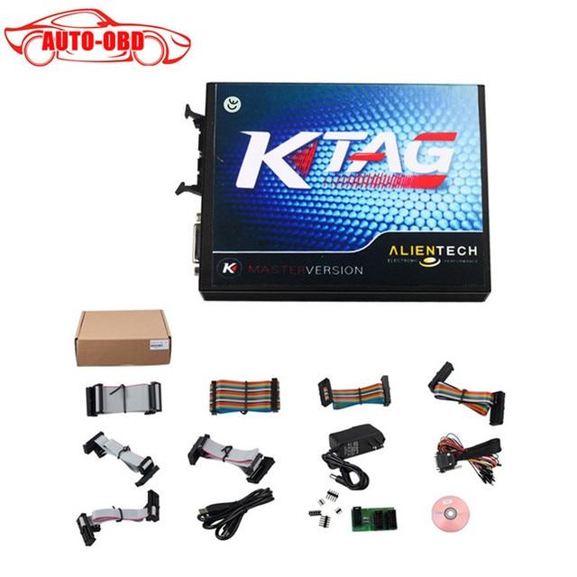 High quality KTAG K-TAG ECU Programming Tool Master KTAG K TAG V2.13 ECU Chip Turning no token limited FW V6.070