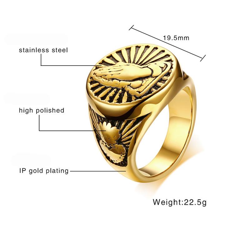 Обручальное кольцо из титановой стали с инкрустацией 8 мм