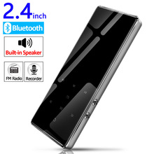 Bluetooth 4.2 Metal mp3 player 2.4 inch screen fm radio e-book video lossless HIFI music mini portable sport audio player цена и фото