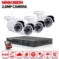NINIVISION 3000TVL 1080P HD Outdoor Home Security Camera System 8CH 1080P HDMI DVR CCTV Video Surveillance