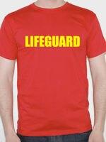 Custom Tee Shirts Short Sleeve Summer Crew Neck Mens Lifeguard Lifeguard Themed Sportser Various Colours Tee