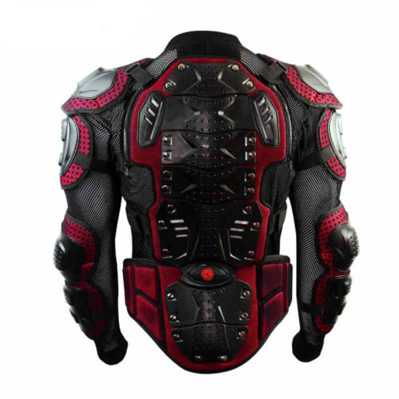 High Quality Black Mix Red Upgrade Motocross Armor Motorcycle Racing Full Protector Gears Armor Jacket Brand Scoyco AM02-2 scoyco am05 racing motorcycle body armor protector black size m