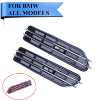 Universal Air Flow Fender M Side Vents Mesh Sticker Hole Grille For BMW M3 M5 E34
