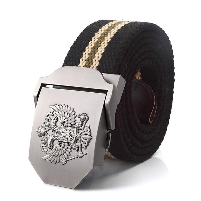 Alloy buckle military men Belts 1