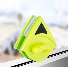 Magnetic Glass Window Cleaner Brush With 2pcs Rugs Single Glazing Windows Glass Dust Brush Cleaner Cleaning Tool for Home Use