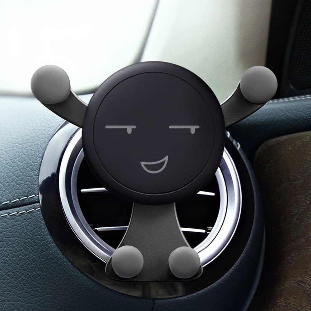 Support de gravité pour téléphone voiture support de téléphones portables support de Smartphone support universel de voiture pour téléphone portable téléphones de type Snap GPS support nouveau