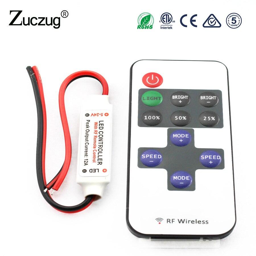 Licht & Beleuchtung ZuverläSsig 12-24 V 18a Rf Remote Wireless Touch Pad Panel Rgb Led Controller Steuert Für 5050 3528 Rgb Licht Rgb Controller Freies Verschiffen