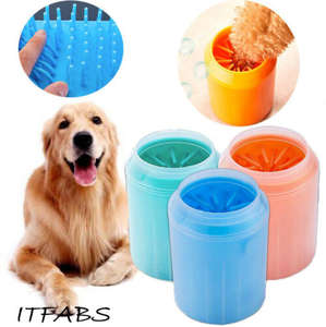 Cleaner Foot-Washer Pets Dogs-Feet Mini Brushes Dog-Paw Super-Cups