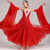 ballroom dress waltz modern dance dress ballroom dance competition dresses standard ballroom dancing clothes tango dress fringe