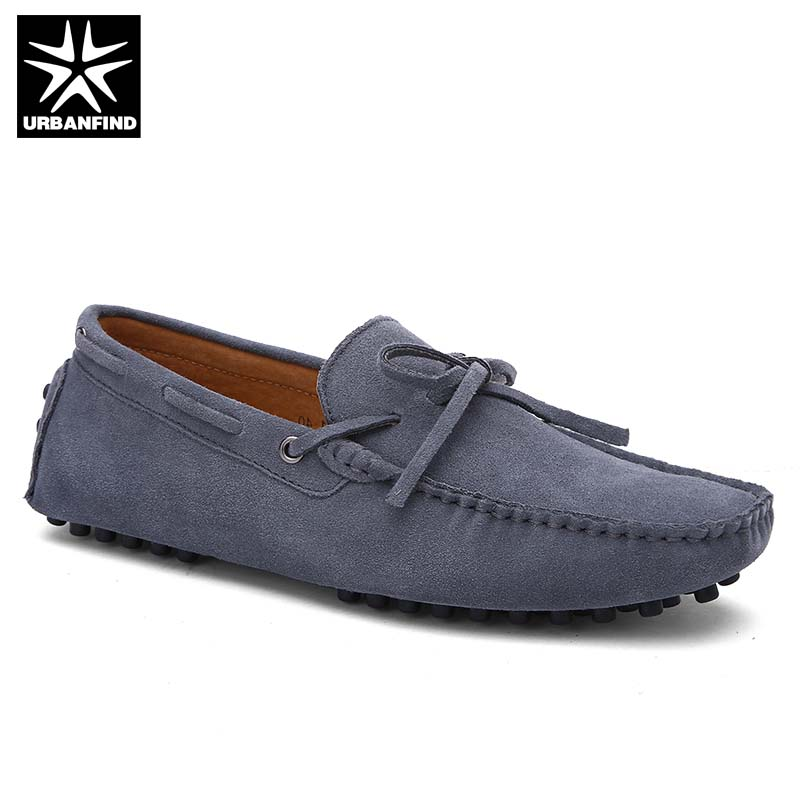 Brand Fashion Summer Spring Men Suede Leather Loafers Big Size 38-49 Hot Sale Shoes Man Light Slip-on Moccasins dekabr new 2018 men cow suede loafers spring autumn genuine leather driving moccasins slip on men casual shoes big size 38 46