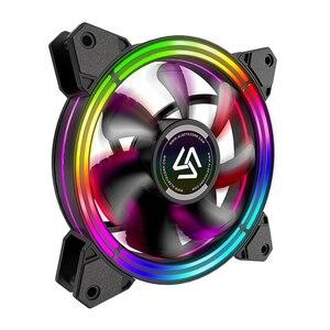 Image 3 - ALSEYE PC Quạt 4 pin PWM 120mm Quạt Làm Mát Mát Tĩnh RGB Quạt Máy Tính cho Ốp Lưng và Quạt CPU thay thế