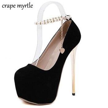 shoes woman pumps wedding heels ankle strap shoes pumps women heels ladies dress shoes sexy high heels platform shoes X193