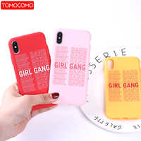 Feminist Girls Gang Woman Fashion Soft Silicone Matte Candy Case Coque Fundas  For iPhone 11 Pro  6 6S 8 8Plus X 7 7Plus XS Max