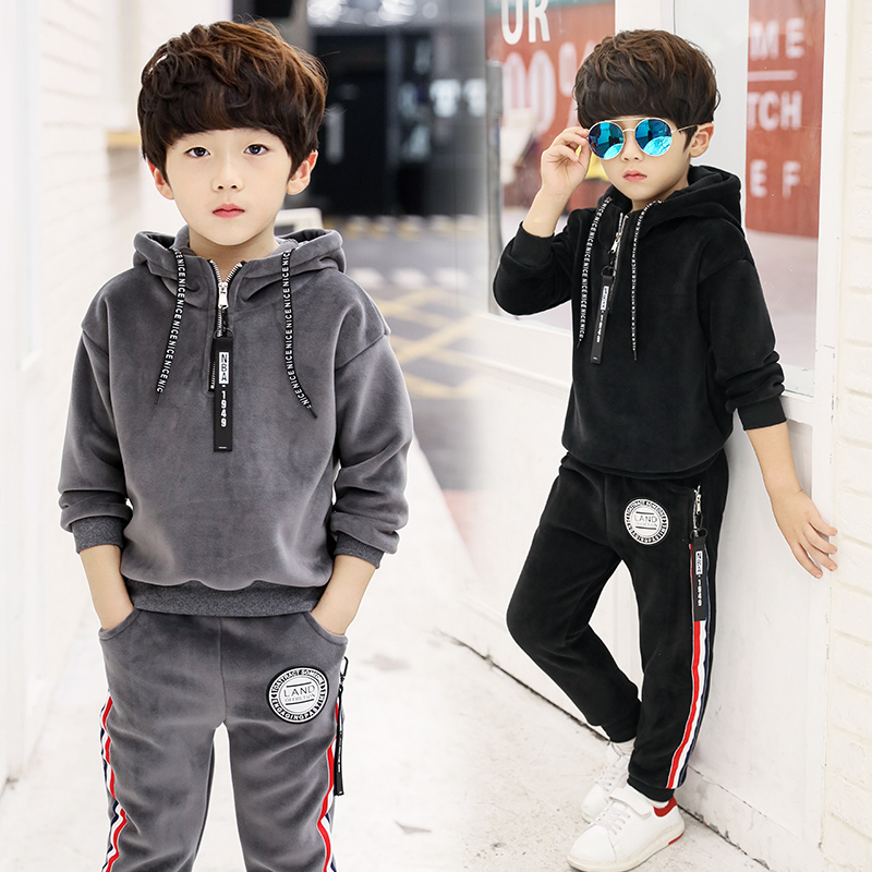 2018 Spring Autumn Tracksuit Girls Sports Suit Velvet Kids Fashion Sportwear Children Track Suit Clothes Set Casual Outfit girls clothing sets cotton velvet fashion pink sports suit brand new 2017 autumn spring girls tracksuit kids clothes size 3 14