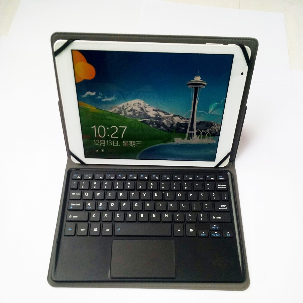 купить Bluetooth Touchpad Keyboard Case For 9.7 inch samsung tab A P555m Tablet PC for samsung tab A P555m keyboard case по цене 3552.87 рублей