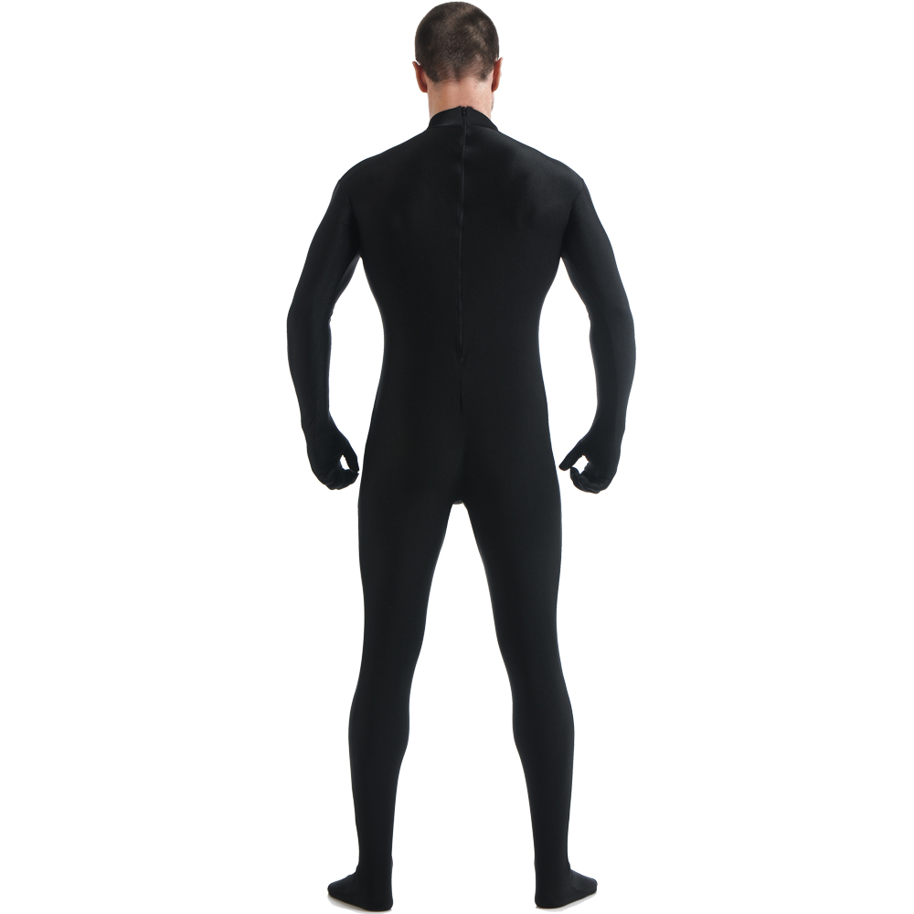 Back Zipper Zentai