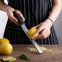 12 インチステンレス鋼チーズおろし器スライサーバターレモン柑橘類 zester シュレッダーチーズおろし器ホームキッチン料理ツール|チーズおろし器|ホーム&ガーデン -