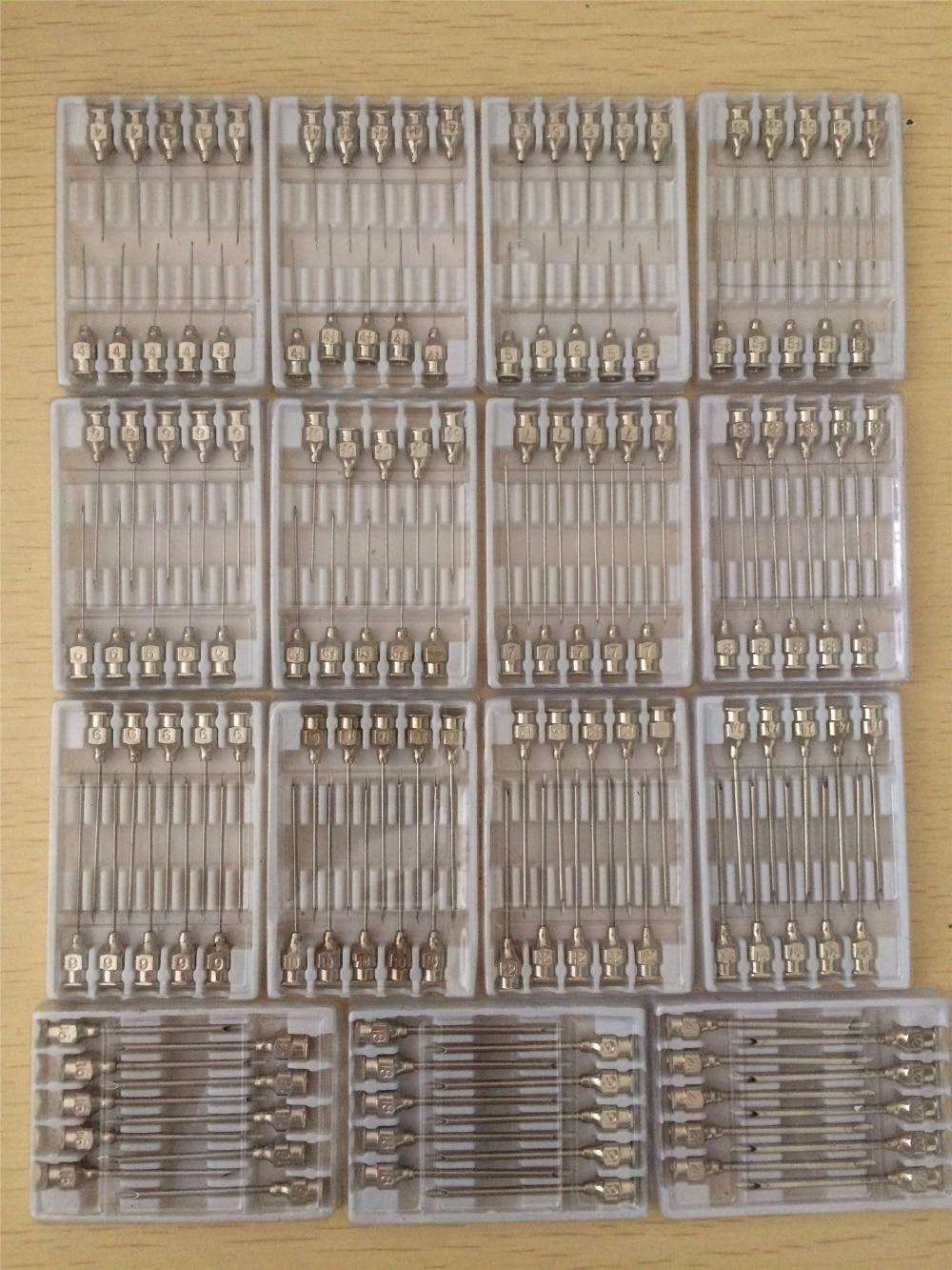 10pcs #4 #4.5 #5 #5.5 #6 To #20 Stainless Steel Syringe Needle Dispensing Needles 11 11 free shippinng 6 x stainless steel 0 63mm od 22ga glue liquid dispenser needles tips
