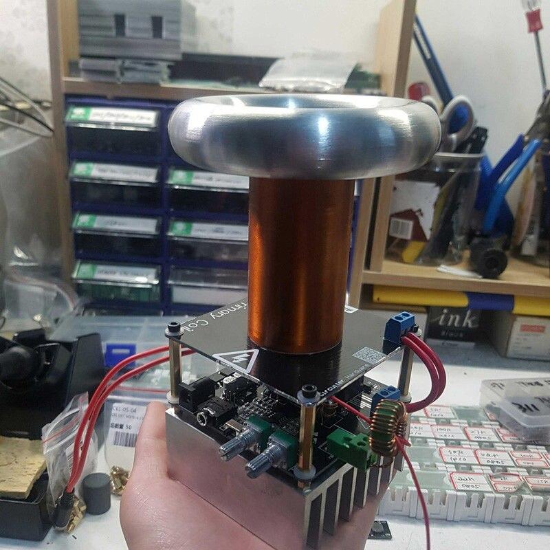 Mini carte de conducteur de bobine de Tesla de bobine de Tesla de musique de 16 MM DC 12 V - 2