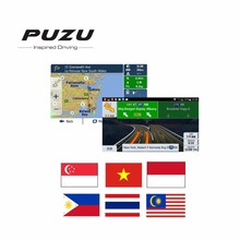 Android system 8G GPS MAP card with Indonesia Malaysia Philippines Singapore Thailand Vietnam map for android