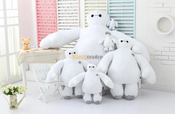 Fancytrader 39\'\' 100cm Giant Plush Stuffed Baymax Big Hero 6 Stuffed Toys, Free Shipping FT90510 (6)