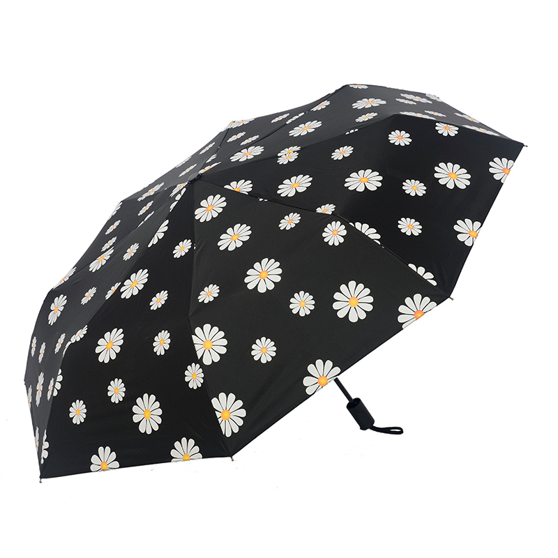 3 taitettava sateenvarjo naisten sade anti-UV-suojan ja sateenvarjo - Kotitaloustavarat - Valokuva 3