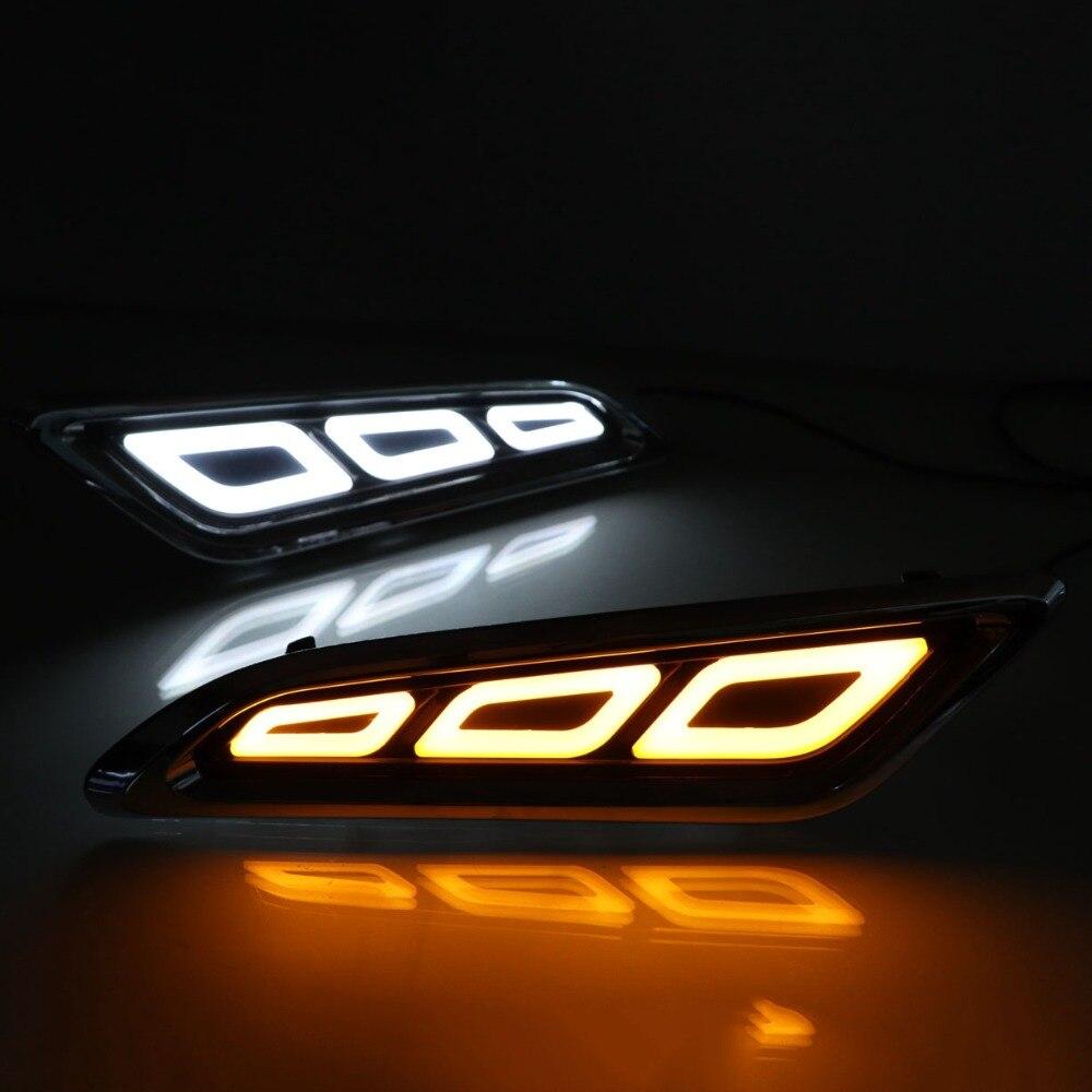 СВЕТОДИОДНЫЙ DRL течет поворота световая сигнальная лампа боковые вентиляционные отверстия StickerFor Nissan Patrol Y62 Armada аксессуары 2016 2017 2018 2019