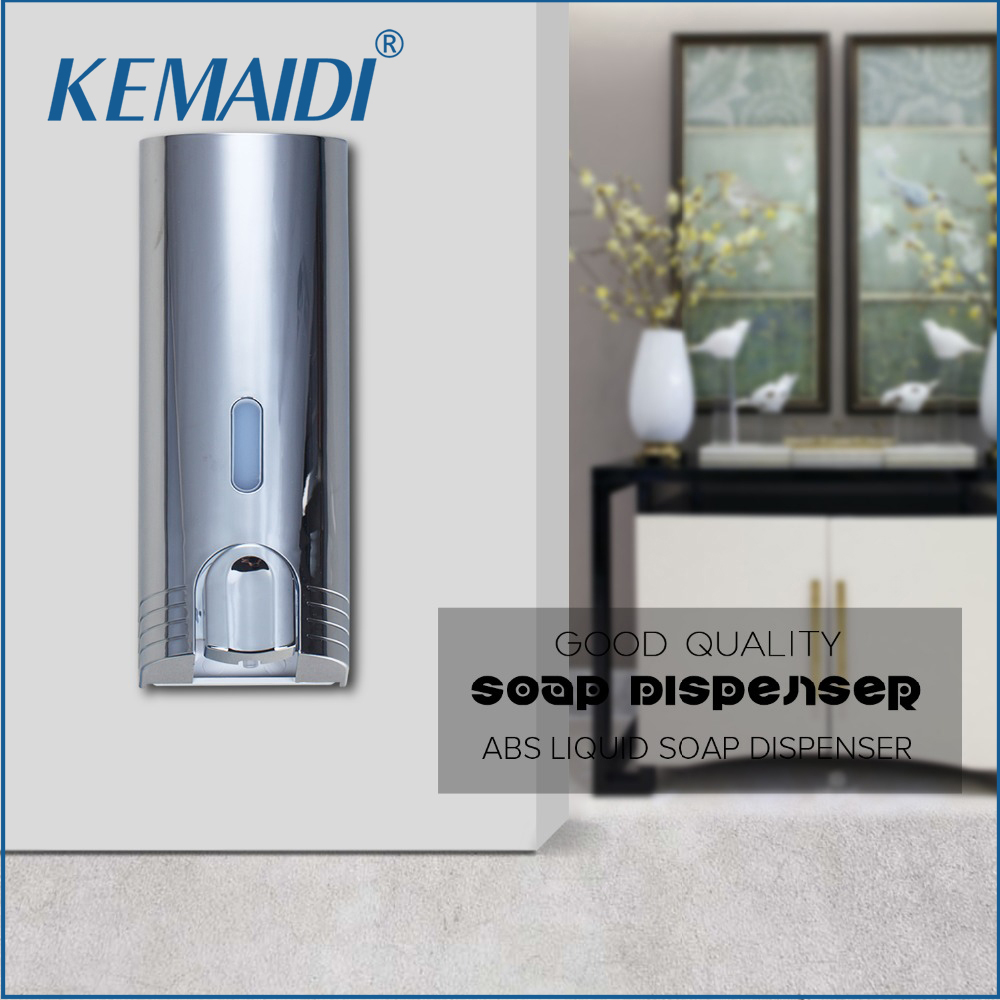 KEMAIDI Hand Soap Dispenser Soap 5744 A Single ABS Liquid Soap Dispenser Box of Hand Washing Liquid Bottle Bathroom Accessories