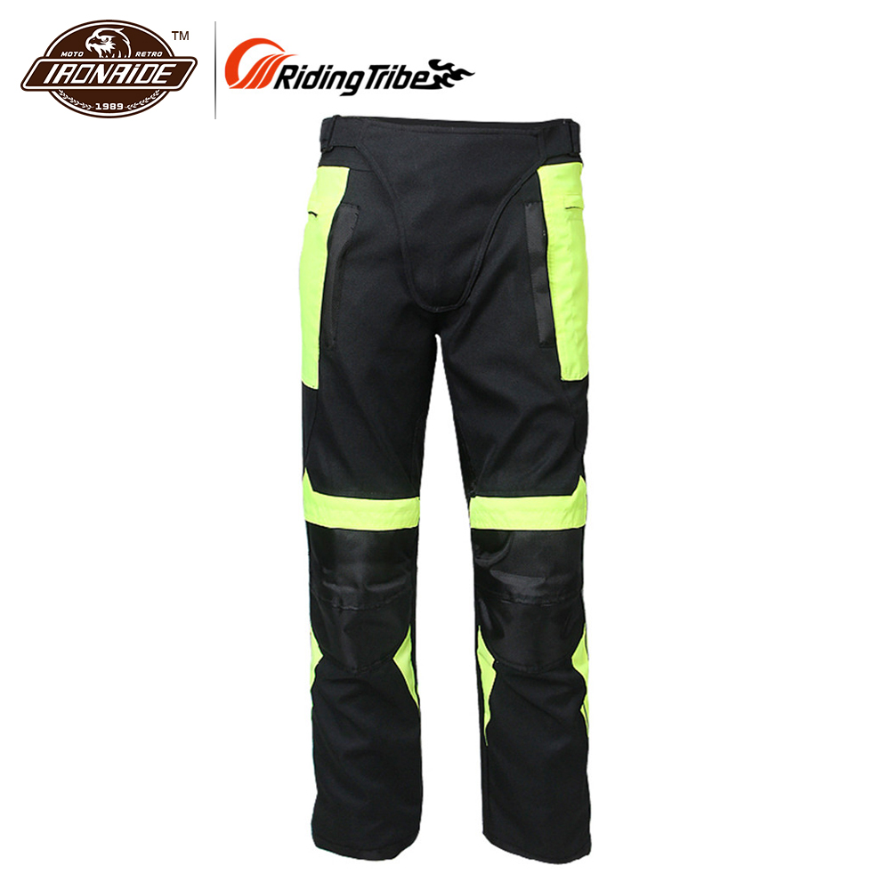 Riding Tribe Summer Breathable Motorcycle Motocross Racing Cycling Pants Motorcycle Motocross Moto Pants Gear Hip Protector riding tribe summer motorcycle pants jeans racing moto armor motocross mx pants off road knee protector jeans hp 05