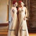 Nova chegada querida plissado com decote em v longo vestidos 2017 sexy backless sash bridermaids maid of honor vestido feito sob encomenda vestido bridemaid