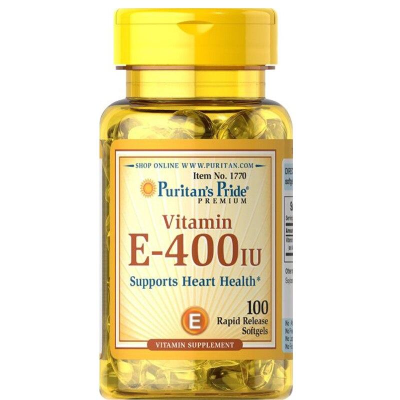 USA Vitamin E-400 IU-100 Softgels free shipping
