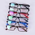 Fashion Women Light Shortsightedness Glasses Frame Eyegalss Full Rim Frame Glasses Plastic Tiatanium Leg