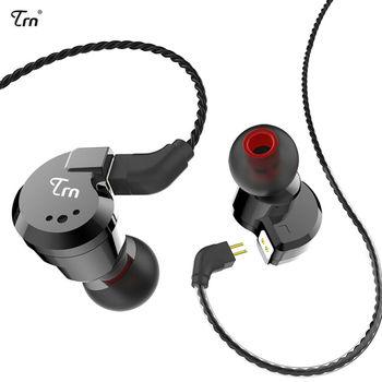 Original TRN V80 In-ear Earphones 2DD+2BA Quad Driver With 2Pin Detachable Cable