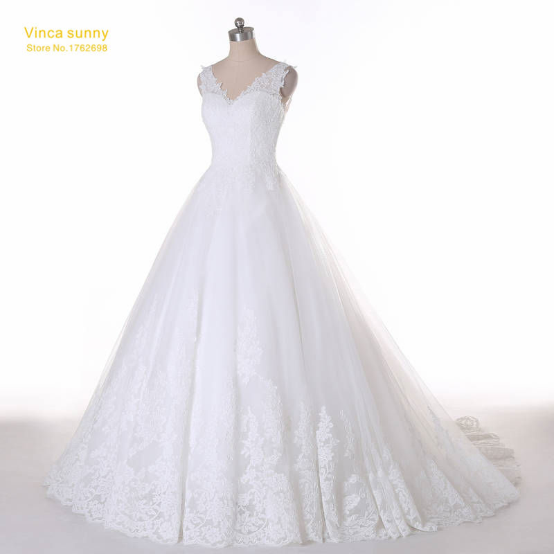 Wedding Gowns For Bigger Brides: Ball Gown Bridal Dress Vintage Muslim Plus Size Lace