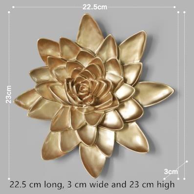 Dreidimensionale Wandsticker, Lotus- und Pfingstrosenblumen, - Wohnkultur - Foto 4