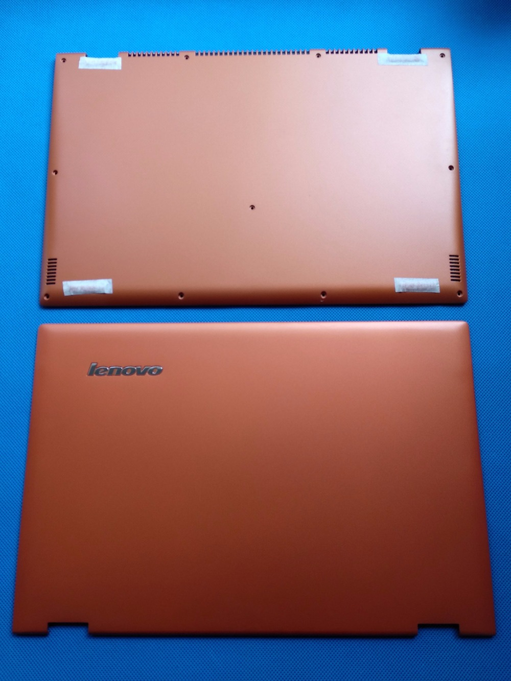 New Original Lenovo Ideapad Yoga 2 Pro 13 LCD Back Rear Lid Cover+ Base Cover Bottom Lower Case AM0S9000200 AM0S9000300 Orange new for lenovo ideapad yoga 13 bottom chassis cover lower case base shell orange w speaker l