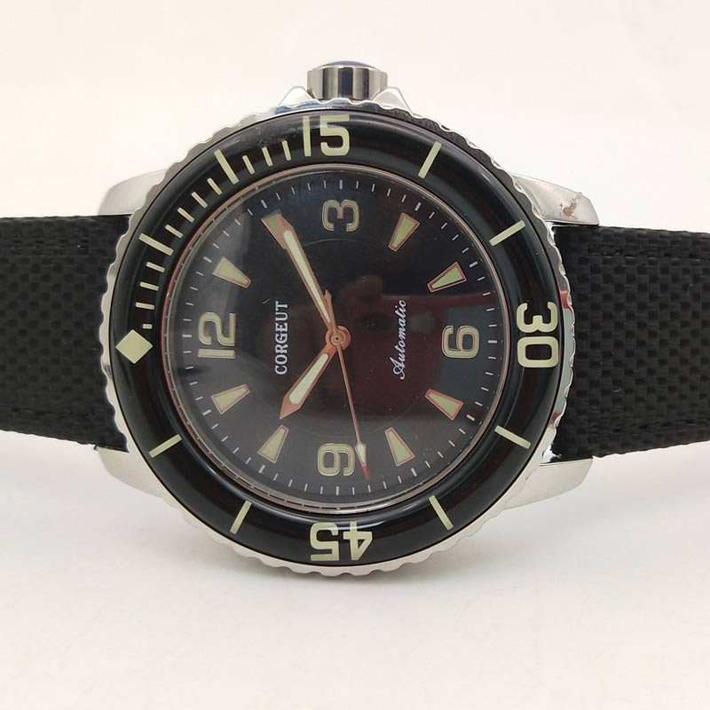 Corgeut Automatic Diver Watch Super Luminous Miyota Metal Mechanical