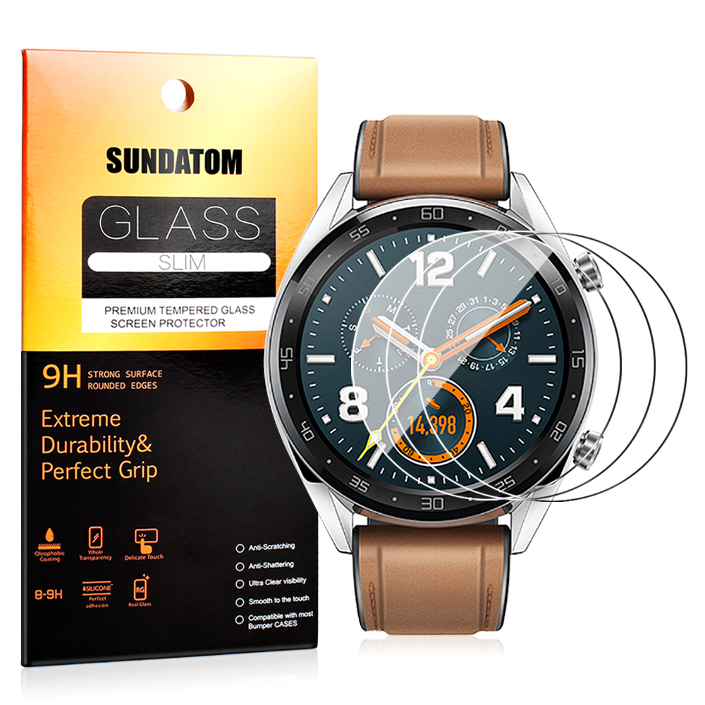 Tempered Glass Screen Protector For Huawei Watch GT 1.39