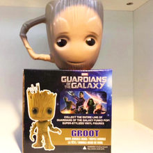 Marvel Cute the Galaxy Guardians Baby Groot Goblet Household Ceramics Coffee Mug Cup Action Figures Model Personality Gifts(China)