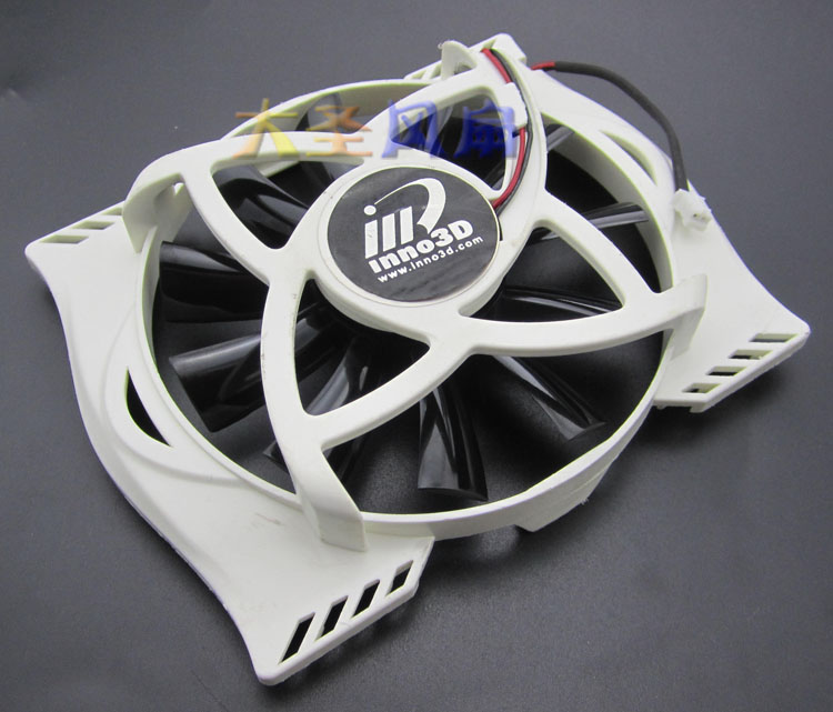 For Inno3D GT240 graphics card cooling fan TK CF-12915B fan diameter 86mm 4pin mgt8012yr w20 graphics card fan vga cooler for xfx gts250 gs 250x ydf5 gts260 video card cooling